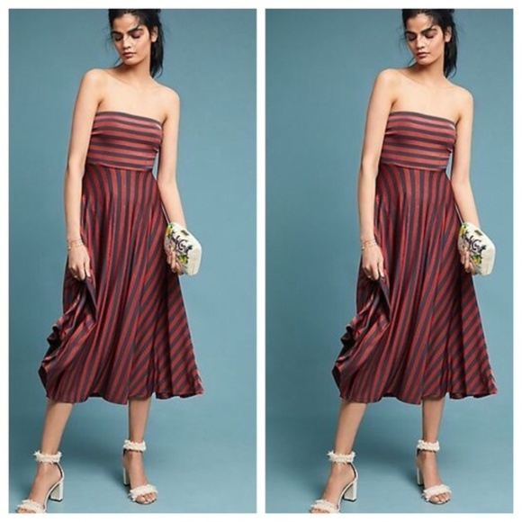 66e77a323047 Anthropologie Dresses | Maeve Petite Penny Striped Dress | Poshmark